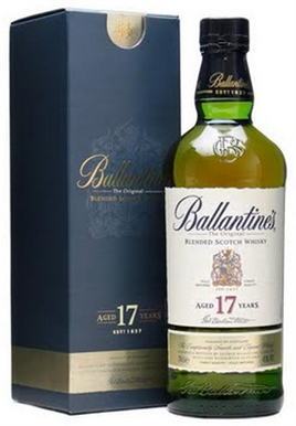 Ballantines Scotch 17 Year